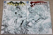 BATMAN SUPERMAN 50 HARLEY QUINN POISON IVY INTERLOCKING B&W MARCH VARIANTS 1