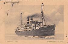 * Navi passeggere  - Lloyd Sabaudo - Principe di Udine 1914 Vico Equense Napoli