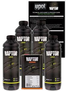 UP0820V RAPTOR® LINER KIT 4L KIT BLACK - 2.6 VOC