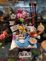 Disney Alice in Wonderland Scene Story Figure Figurine Toy Home Ornament 16-18cm