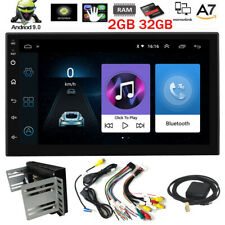 Universal Android 9.0 2GB+32GB Car Radio No DVD Player 7'' Touch Screen GPS Navi