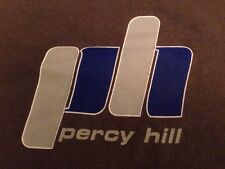 Percy Hill Large Shirt Authentic Gray Vintage Graphic Rare PH