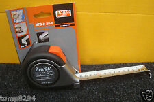 BAHCO MTS 8 25 E 8M/26' TAPE MEASURE STAINLESS STEEL BLADE