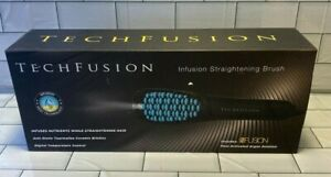 Tech Fusion Infusion Straightening Brush Model YSC HS01A 3.4 Argan Solution NEW