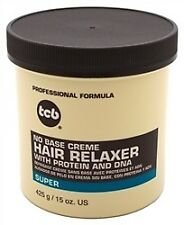 TCB NO BASE CREME HAIR RELAXER SUPER 15.OZ