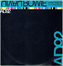 "David Bowie 45RPM Speed Rock 12"" Singles"