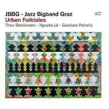 "JBBG-JAZZ BIGBAND GRAZ ""URBAN FOLKTALES"" CD NEUWARE"