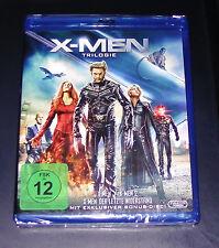 X-MEN TRILOGIE 4 DISC SET BLU RAY SCHNELLER VERSAND NEU & OVP