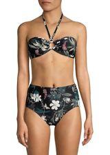 9b46ae6815  90 Kate Spade New York Playa Carmen Halter Bandeau Ring Cutout Bikini Top  XS