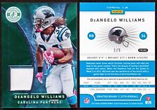 2012 Panini Totally Certified DeANGELO WILLIAMS Platinum Green Prime Jersey 1/5