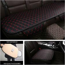 3PC Pu Leather Car Seat Covers Cushion Four Seasons General Car Seat Cushions