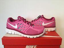 Nike FLEX 2016 RN Ragazze/WOMEN'S TRAINER variabile dimensioni rosa in scatola Nuovo di Zecca