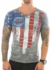 Figurbetonte Rusty Neal Herren-T-Shirts mit Motiv