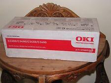 Genuine OKI 43460208 Black Toner Cartridge for C3300/C3400/C3450/ C3600
