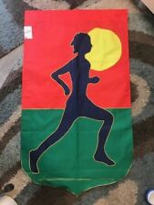 Runner / Running / Marathon Handmade Decorative Flag
