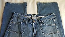 "Levi's 545 Low Boot Cut Denim Blue Jeans Sz 8M Waist 32"" Inseam 31 1/2"" R14"