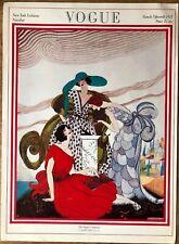 Vintage Vogue Magazine Poster March 15, 1921 Authorised 1970's Reprint 39x28cm19