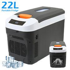 Portable Fridge Freezer Cooler DC12/24V AC240V Camping Refrigerator Caravan
