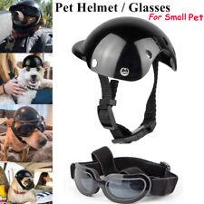 More details for dog goggles + pet motorcycle helmet uv glasses pet eyewear sunglasses adjust s