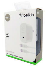 New Belkin Boost Up 15W USB-C Home Charger + Cable for Samsung S9 / S9+, S8