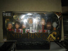 1 RARE HTF COLLECTABLE PEZ THE LORD OF THE RINGS LIMITED EDITION SET