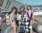 STEVE KINSER #11 WoO SPRINT CAR CLOSE UP 8X10 GLOSSY PHOTO #17K