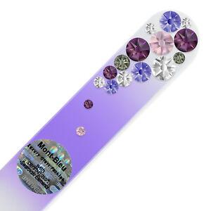 Mont Bleu Premium Glass Nail File - Quality Crystal Nail File for Natural Nails