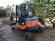 HITACHI 5 TON DIGGER/ EXCAVATOR 6 BUCKETS QUICK HITCH.
