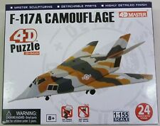 4D Master 1/155 F-117A Camouflade Model Puzzle  Snap 26211