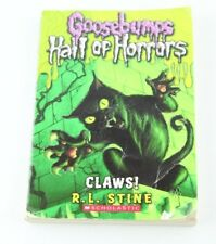 Goosebumps Hall of Horrors Claws With Custom Artwork Paperback Horror R.L. Stine