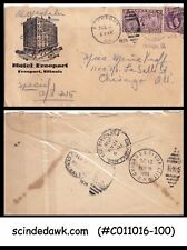 USA - 1935 SPECIAL ENVELOPE TO CHIGAGO with SPECIAL DELIVERY STAMP