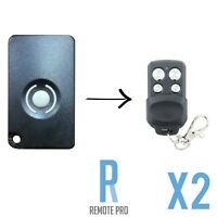 2 x HomEntry/Home Entry HE60/HE60R/HE4331/HE60ANZ Compatible Garage Remote