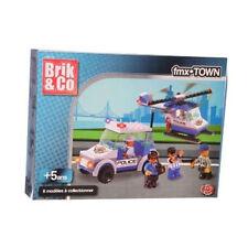 Brik & Co - Jeux de construction véhicules de police