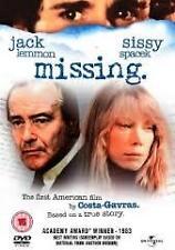 Missing DVD 1982_Region 1_RARE ACADEMY AWARD_TRUE STORY_Jack Lemmon_Costa Gavras