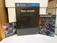 Il Ninja Salvatori RITORNO DEI GUERRIERI sintonizzato COLLECTOR'S EDITION per PS4-NUOVO