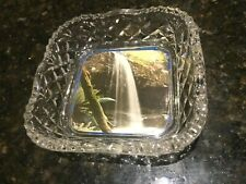 Lower Kalimna Falls,Lorne,Vic-View Ware Dish-Glass-1940's-10.4 cm wide-Rare.