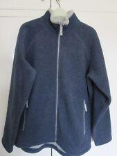 Zipped long fleece for men Gap Factory Store brand Size Medium Blue &grey New EX