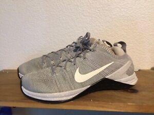 Men's Nike Metcon DSX Flyknit 2 924423-011 Matte Silver Sz 9.5 Training Shoes