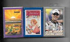 Amtrak Rr, K. Harvick & Campbell'S Decks Of Playing Cds