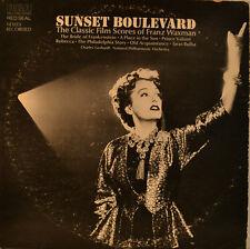 "OST - SOUNDTRACK - SUNSET BOULEVARD - FRANZ WAXMAN 12"" LP (L878)"