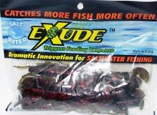 Exude Fantail Shrimp Mangrove Red Soft Plastic Lure BRAND NEW