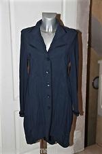 luxueuse veste longue marine stretch MC PLANET taille 42 (I 46) ÉTAT NEUF