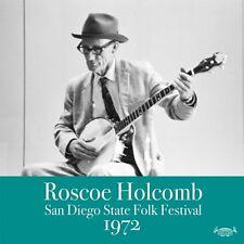 Roscoe Holcomb - San Diego Folk Festival 1972 [New CD] Digipack Packaging