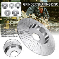 Carbide Wood Sanding Carving Shaping Disc Angle Grinder Grinding Wheel All Size