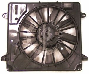 A/C Condenser Fan Assembly Performance Radiator fits 2007 Jeep Wrangler 3.8L-V6