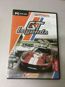 PC DVD ROM GT LEGENDS QUATTRORUOTE ATARI (M31)