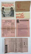 Vintage Health-O-Quality Products Home Business Offer Packet - Cincinnati, OH