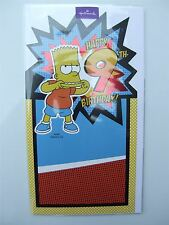Simpsons 'party' birthday card for age 9 (NINE) by Hallmark - 11480724