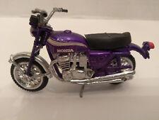 Vintage ZEE Toy Ridge Rider Honda CB750 Motorcycle Diecast MIP Purple