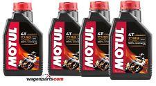 Aceite Motos 4T Motul 7100 10W60, pack 4 litros